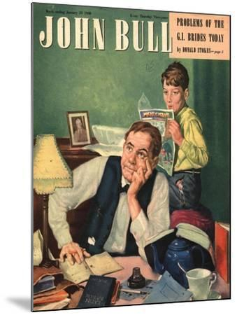 Front Cover of 'John Bull', January 1948--Mounted Giclee Print