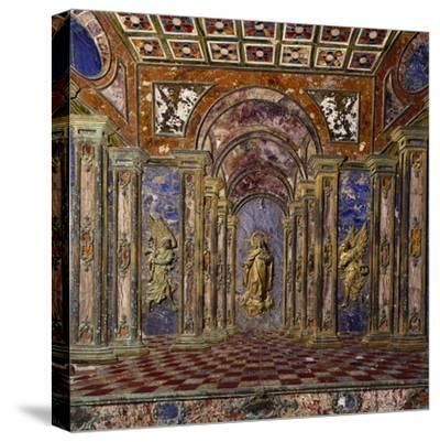 Altar of Royal Chapel of Assumption--Stretched Canvas Print