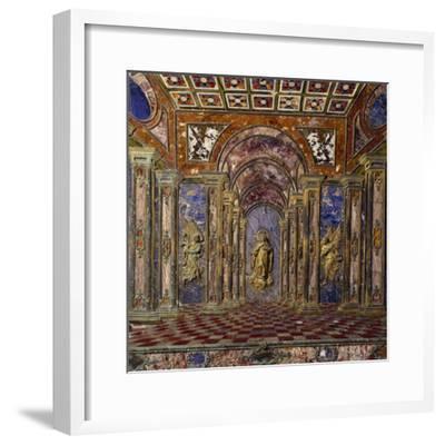 Altar of Royal Chapel of Assumption--Framed Photographic Print