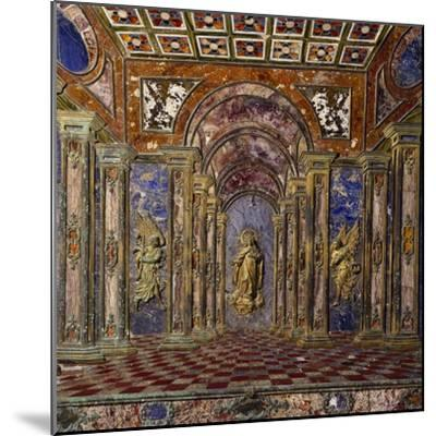 Altar of Royal Chapel of Assumption--Mounted Photographic Print