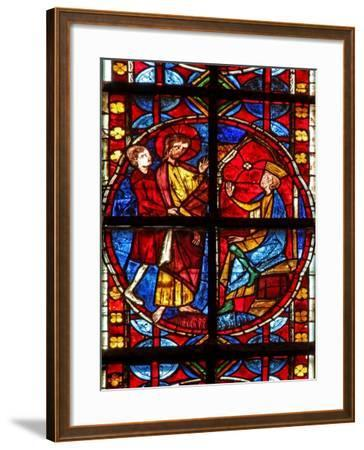 Window W210 Depicting St James before Herod--Framed Giclee Print