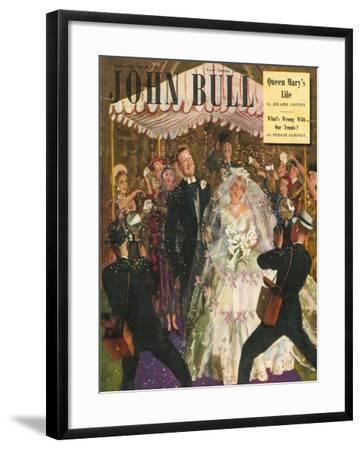 Front Cover of 'John Bull', May 1949--Framed Giclee Print