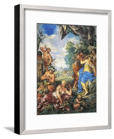 Silver Age or Rather Quiet Life Devoted to Sheep Farming and Agriculture--Framed Giclee Print