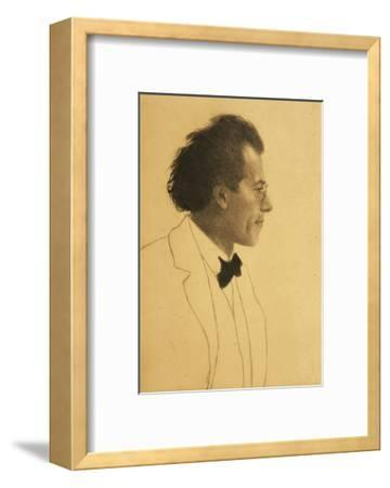 Austria, Vienna, Portrait of Composer Gustav Mahler--Framed Giclee Print