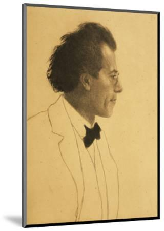 Austria, Vienna, Portrait of Composer Gustav Mahler--Mounted Giclee Print