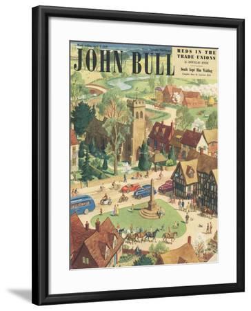 Front Cover of 'John Bull', April 1949--Framed Giclee Print