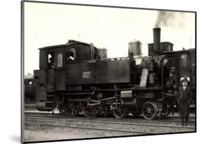 Foto Deutsche Dampflok Nr. 6501, KraUSS 6202, 1909--Mounted Giclee Print