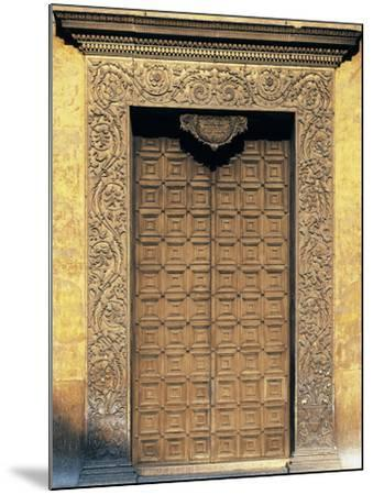 Marble Portal of Basilica of Sant'Andrea, Mantua--Mounted Photographic Print