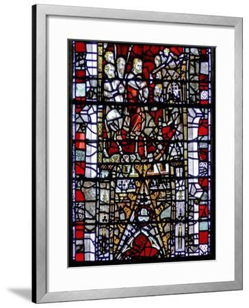 Window W3 Depicting the Entry into Jerusalem--Framed Giclee Print