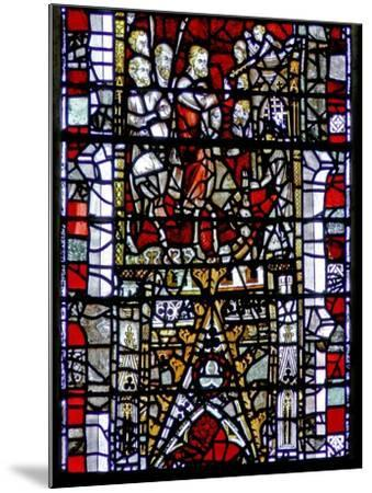 Window W3 Depicting the Entry into Jerusalem--Mounted Giclee Print