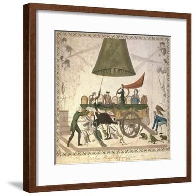 France, the Musical Jury of the Opera--Framed Giclee Print