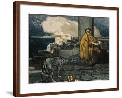 Austria, Vienna, Illustration of Dante Alighieri's Divine Comedy--Framed Giclee Print