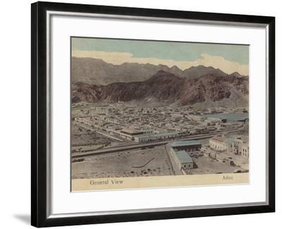 General View of Aden--Framed Photographic Print