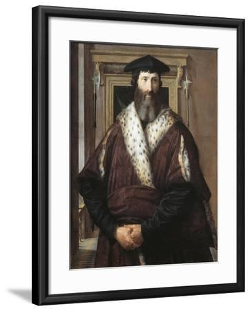Portrait of Malatesta Baglioni--Framed Giclee Print