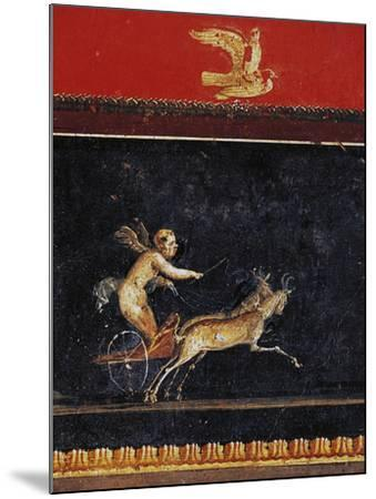 Frieze with Cupid, House of Vettii, Pompeii--Mounted Photographic Print