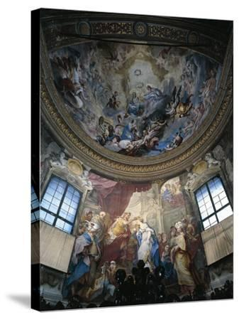 Frescoes--Stretched Canvas Print