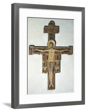 Crucifixion and Stories of Passion--Framed Giclee Print