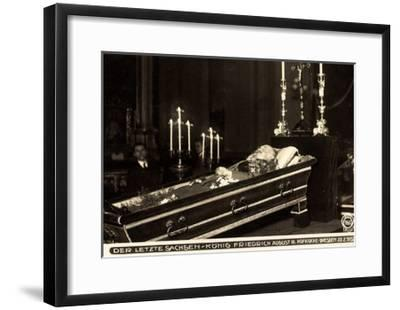 Friedrich August III, Sachsen König, 1932, Bestattung--Framed Giclee Print