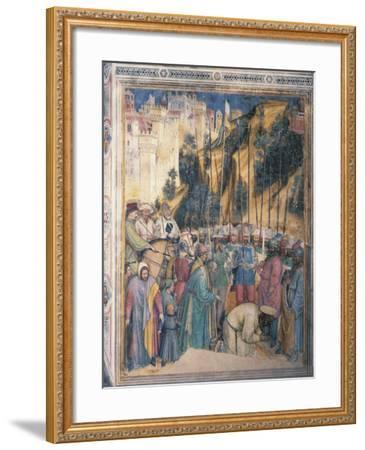 Beheading of St George, Scene Episodes from Life of St George, 1379-1384--Framed Giclee Print