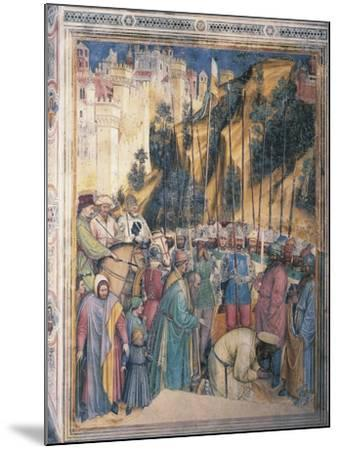 Beheading of St George, Scene Episodes from Life of St George, 1379-1384--Mounted Giclee Print