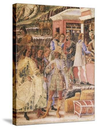 Group of Merchants--Stretched Canvas Print