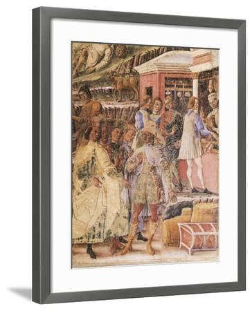 Group of Merchants--Framed Giclee Print