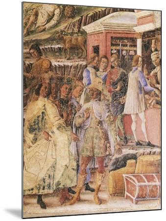 Group of Merchants--Mounted Giclee Print