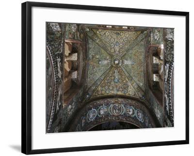 Groin Vault of the Presbytery, Basilica of San Vitale--Framed Photographic Print
