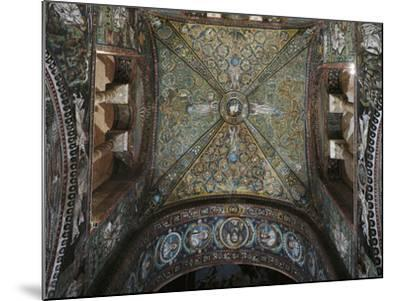 Groin Vault of the Presbytery, Basilica of San Vitale--Mounted Photographic Print