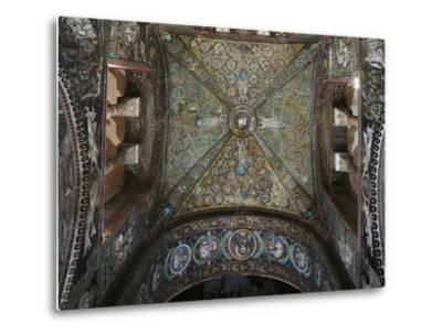 Groin Vault of the Presbytery, Basilica of San Vitale--Metal Print