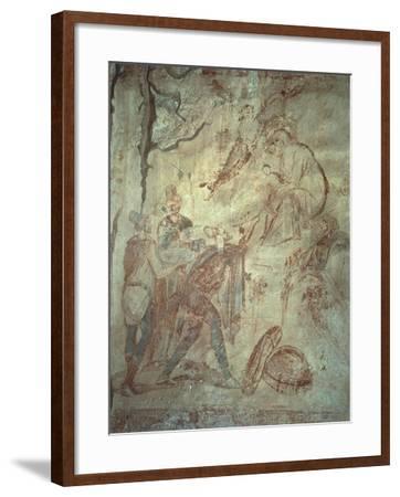 Adoration of Magi--Framed Giclee Print