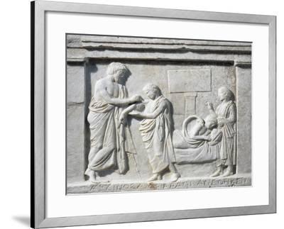Attica, Oropos, Temple of Amphiaraos--Framed Giclee Print