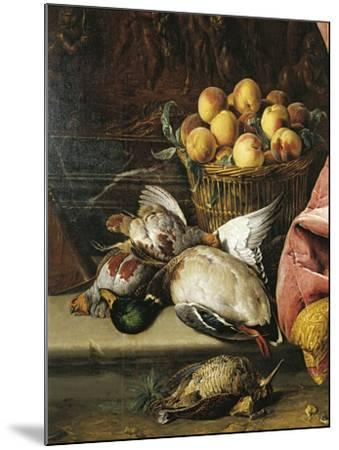 Still Life with Game, Fruit and Viola D'Amore--Mounted Giclee Print