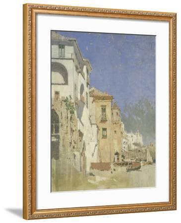 Pepinella Palace in Amalfi, Pietro Scoppetta--Framed Giclee Print