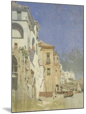 Pepinella Palace in Amalfi, Pietro Scoppetta--Mounted Giclee Print