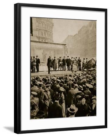 Muddling Through--Framed Photographic Print