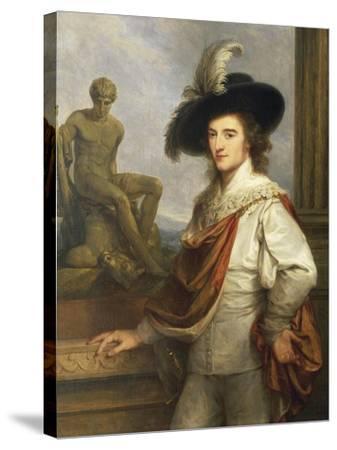 Austria, Vienna Portrait of Austrian Collector, Joseph Johann Graf Fries--Stretched Canvas Print