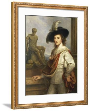 Austria, Vienna Portrait of Austrian Collector, Joseph Johann Graf Fries--Framed Giclee Print