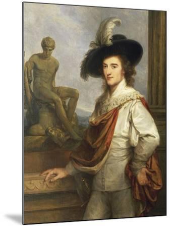 Austria, Vienna Portrait of Austrian Collector, Joseph Johann Graf Fries--Mounted Giclee Print