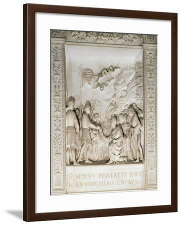 Gian Galeazzo Visconti Appointed by Duke Wenceslaus--Framed Giclee Print