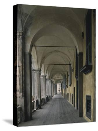 Loggia at Villa Doria Pamphili or Prince's Palace--Stretched Canvas Print