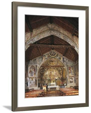 Overall View of Apse and Frescoes--Framed Giclee Print
