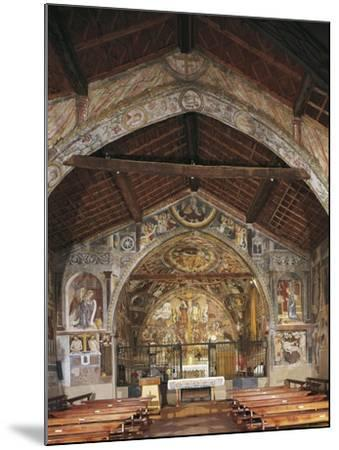 Overall View of Apse and Frescoes--Mounted Giclee Print
