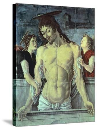 Pieta by Marco Zoppo--Stretched Canvas Print