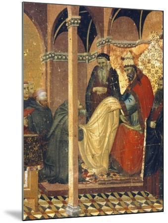 Honorius IV Gives New Clothes to Friars of Carmine--Mounted Giclee Print