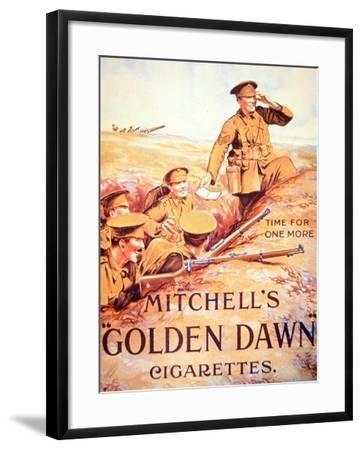 Mitchell's Golden Dawn Cigarettes', 1914-18--Framed Giclee Print