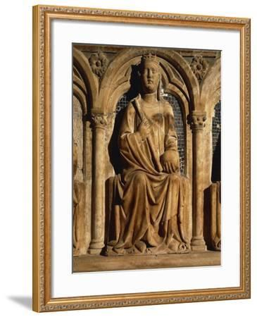 Detail of Funeral Monument of Marie of Valois--Framed Giclee Print