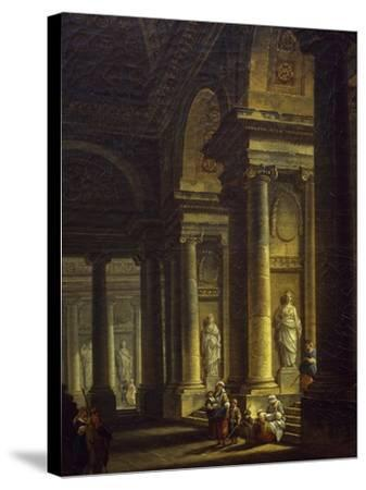 Interior of Church, 1771--Stretched Canvas Print