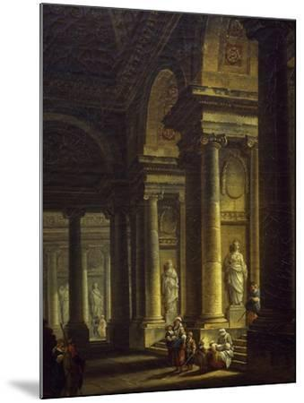 Interior of Church, 1771--Mounted Giclee Print