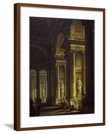 Interior of Church, 1771--Framed Giclee Print